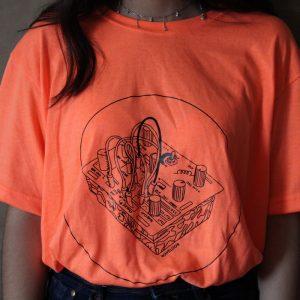camiseta neon DIY WAVELOOR