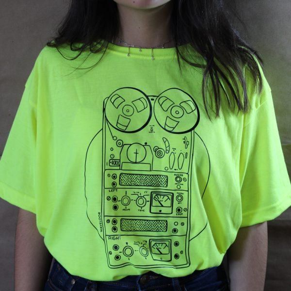 camiseta neon magnetic WAVELOOR