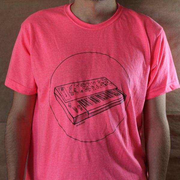Camiseta Neón SYNTH GLITCH