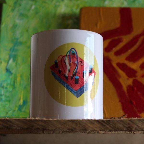 mug blanco DIY WAVELOOR