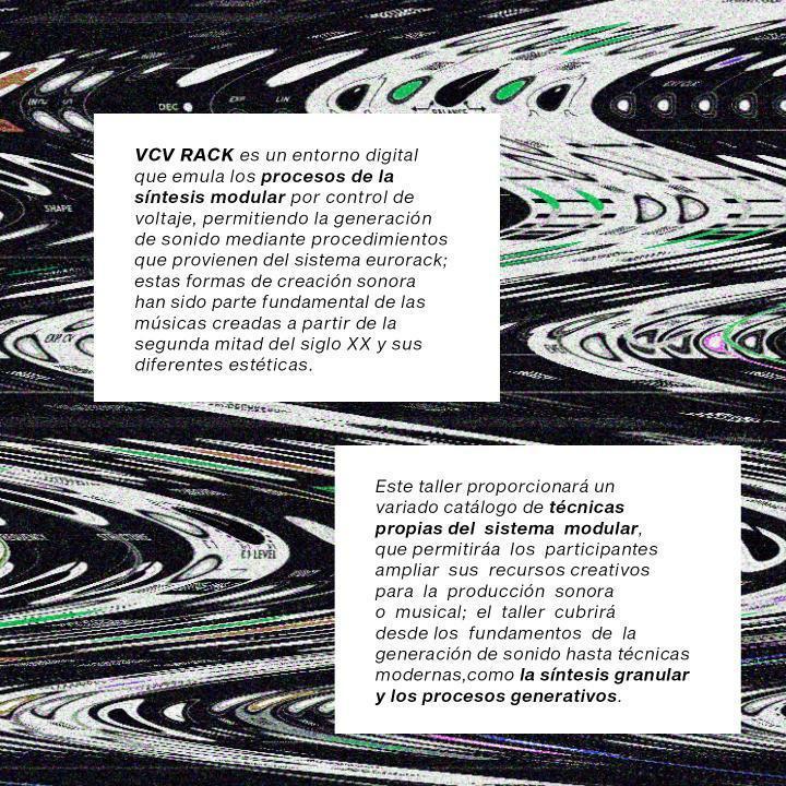 Taller Síntesis de sonido VCV - WAVELOOR
